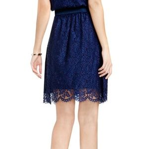 Vince Camuto Skirts - Vince Camuto Scallop Lace Full A-Line Skirt